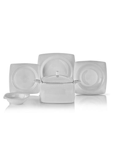 Schafer 60 Prç. Wondel Yemek Takımı - BYZ06 Beyaz